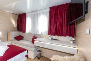 Riva Main Deck cabin windows